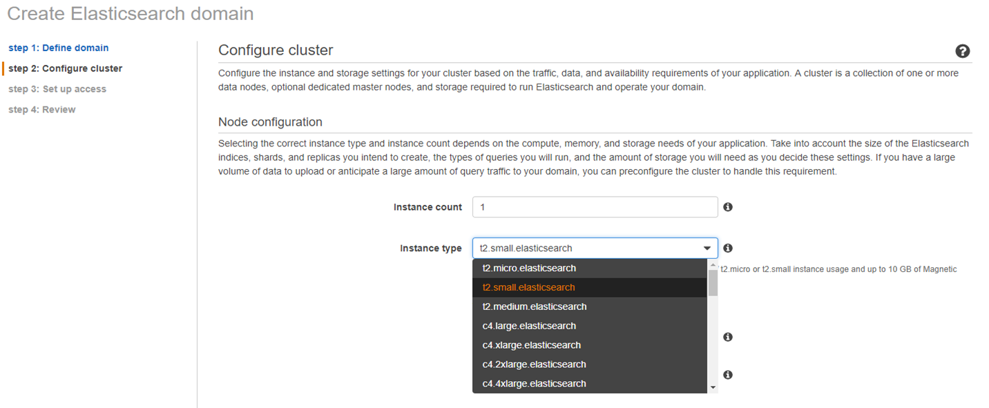 step 2: Configure cluster